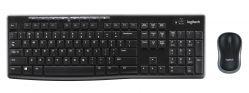 LOGITECH - Wireless Combo MK270 - Conjunto de teclado e rato - sem fios - 2.4 GHz - Alemão (Layout não português)