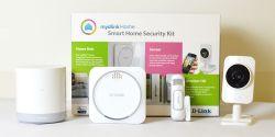 D-LINK - mydlink Home Security Starter Kit Z-Wave