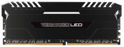 CORSAIR - MEMORIA CORSAIR DDR4 32GB 4X8GB PC 3600 VENGEANCE BLACK WHITE LED CMU32GX4M4C3600C18