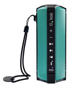 HERCULES - Coluna PORTATIL S/ Fios RUSH. Bluetooth. RESTISTENTE AGUA/ARENA. RADIO FM (4780832)