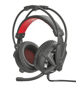 TRUST - HEADPHONES GAMING VERUS C/ BASS VIBRATION