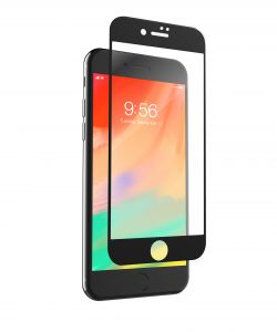 ZAGG - IPHONE 8/7 P GLS CONTOUR-BLACK ACCS INVISIBLESHIELD GLASS-SCREEN