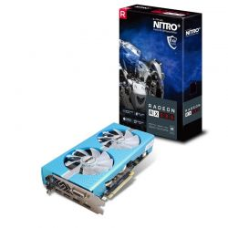 SAPPHIRE - RADEON RX 580 8GB GDDR5 NITRO CTLR 2XHDMI DVI-D 2XDP W/BP SPECIAL E