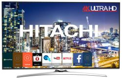 HITACHI - 65HL15W64 65P 4K ULTRA HD SMART TV CROMO A+ 20W HOSPITALITY TV