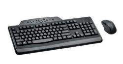 KENSINGTON - Pro Fit Wireless Desktop Set - Conjunto de teclado e rato - sem fios - 2.4 GHz - Espanha (Layout não português)