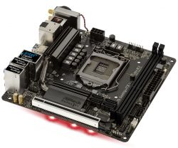 ASROCK - BOARD Z370 GAMING-ITX/AC , INTEL, 1151 (C), Z370, 2DDR4, 32GB, HDMI+DP, GBLAN+WIFI+BT, 6SATA3, 1USB3.1, MINI-ITX