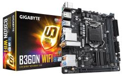 GIGABYTE - MB Intel 1151 B360N WIFI CL