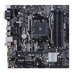 ASUS - PRIME A320M-A AMD AM4 A320 4DDR4 64GB VGA+DVI+HDMI GBLAN 6SATA3 6USB3.1 MATX