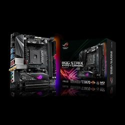 ASUS - ROG STRIX X470-I GAMING, AMD, AM4, X470