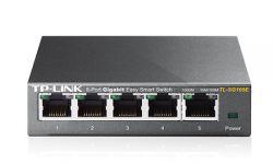 TP-LINK - Switch DE MESA 5 PORTAS EASY SMART GIGABIT -TL-SG105E