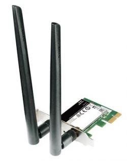 D-LINK - Wireless AC1200 DualBand PCIe Adapter