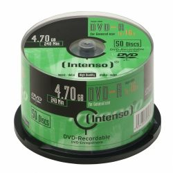 INTENSO - DVD-R 4.7Gb 16X Cake 50un