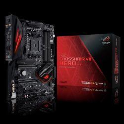ASUS - ROG CROSSHAIR VII HERO (WI-FI), AMD, AM4, X470
