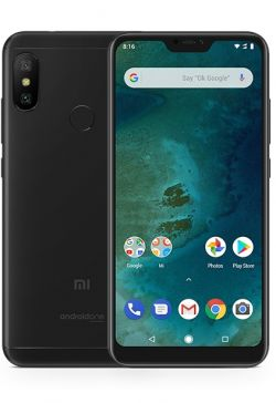 XIAOMI - MI A2 LITE P5.84 OC 3GB 32GB 4G 12MP ANDROID ONE PRETO