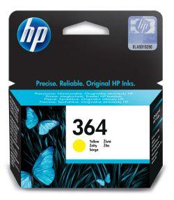HP - Tinteiro 364 Amarelo