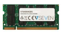 V7 - 4GB DDR2 800MHZ CL6 MEM SO DIMM PC2-6400 1.8V