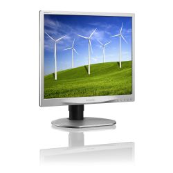 PHILIPS - Brilliance B-line 19B4QCS5 - Monitor LED - 19P - 1280 x 1024 - IPS - 250 cd/m² - 1000:1 - 5 ms - DVI-D, VGA - altifalantes - preto, prata
