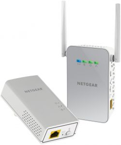 NETGEAR - 1PT Gigabit PowerLine AV2 AC650 BNDL
