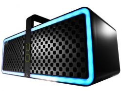 HERCULES - Colunas portáteis Wireless NEO. Bluetooth. NFC. NEGRO-LED RGB