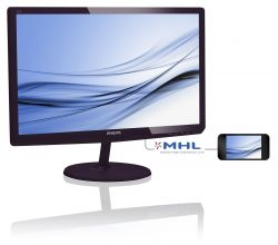 PHILIPS - MONITORS - 21 5 IPS 1020X1080 FHD 16:9 MNTR 227E6EDSD VGA DVI SOFTBLUE