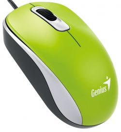 GENIUS - DX-110 USB Ótico 1000DPI AMBIDEXTRO Verde Rato