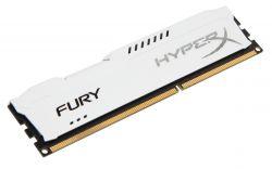 HYPERX - 8GB 1600MHz DDR3 CL10 HYPERX FURY WHITE SERIES HX316C10FW / 8