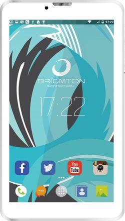 BRIGMTON - Tablet 7P HD IPS 3G BTPC-PH6 QC DSIM Branco
