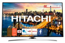 HITACHI - 49HL15W69 49P 4K ULTRA HD SMART TV CROMO A+ 20W HOSPITALITY TV