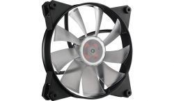 COOLER MASTER - MasterFan Pro 140 Air Flow RGB 140mm Custom Colors Silent hybrid Jam protection. Compatible with Aura sync RGB Fusion MSI Mystic Asrock RGB Led