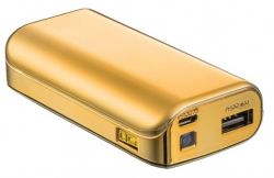 TRUST - POWERBANK 4400 PORTABLE CHARGER - GOLD