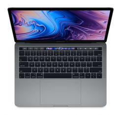 APPLE - 13-inch MacBook Pro with Touch Bar: 2.3GHz quad-core 8th-gen IntelCorei5 cpu: 256GB - Space Grey