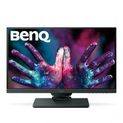 BENQ - PD2500Q (9H.LG8LA.TSE) 25P/IPS/2560 X 1440/4 MS/350 CD/100% RGB/DISPLAY PORT DP/HUB USB/MULTIMEDIA/VESA/REG ALTURA/PIVOTABLE/INCLUI CaboS USB HDMI