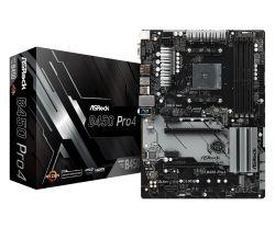 ASROCK - MB AMD AM4 B450 Pro4