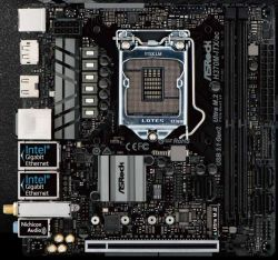 ASROCK - H370M-ITX/AC INTEL H370 LGA 1151 (SOCKET H4) MINI-ITX PLACA BASE