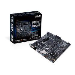 ASUS - PRIME A320M-E AMD AM4 A320 2DDR4 32GB VGA+DVI+HDMI GBLAN 4SATA3 6USB3.1 MATX