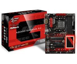ASROCK - AB350 GAMING K4 AMD AM4 B350