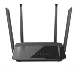 D-LINK - Wireless AC1200 Dual Band Gigabit Router with external Antena