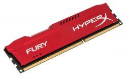 HYPERX - 8GB 1600MHz DDR3 CL10 HYPERX FURY RED SERIES HX316C10FR / 8