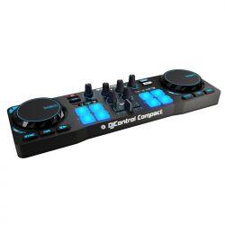 HERCULES - CONSOLA DJ CONTROL COMPACT (4780843)