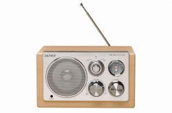 DENVER - TR-61C Portátil Analógico côr Branco, MADERA Rádio
