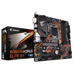 GIGABYTE - B365 M AORUS ELITE Intel 1151 M-ATX, 4x D4 2666 USB3.1 SATA3