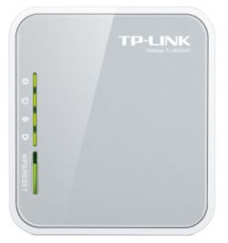 TP-LINK - Portable 3G / 4G Wireless N Router