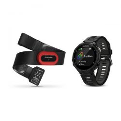 GARMIN - GPS CORRIDA RELOGIO FORERUNNER 735XT RUN BUNDLE BLACK/GREY