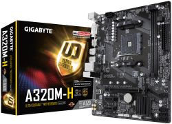 GIGABYTE - MB AMD AM4 A320M-H 1.1 M/B