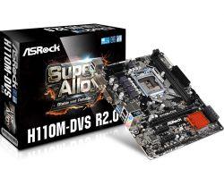 ASROCK - H110M-DVS R2.0 INTEL H110 LGA1151 MICRO ATX