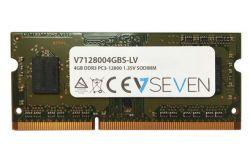 V7 - 4GB DDR3 1600MHZ CL11 MEM SO DIMM PC3L-12800 1.35V