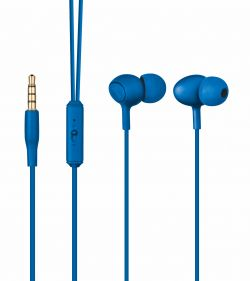TRUST - AUSCULTADORES ZIVA IN-EAR C/MIC BLUE - 21951