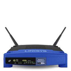 LINKSYS - Wireless Router 54MB+4P Switch WRT54GL