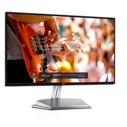 DELL - S2418H - Monitor LED - 24P (23.8P visível) - 1920 x 1080 Full HD (1080p) - IPS - 250 cd/m² - 1000:1 - 6 ms - HDMI, VGA - altifalantes - preto