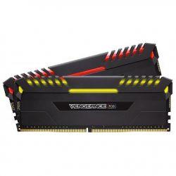 CORSAIR - DDR4 16GB 2X8GB PC 3600 VENGEANCE RGB SERIES CMR16GX4M2C3600C18